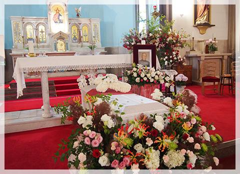 葬儀 キリスト 教