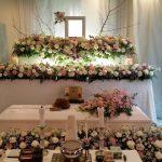 ご自宅葬の祭壇
