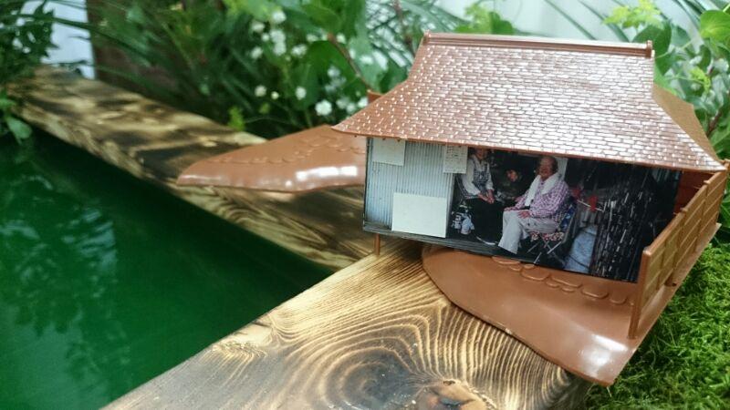 釣堀祭壇の管理者小屋