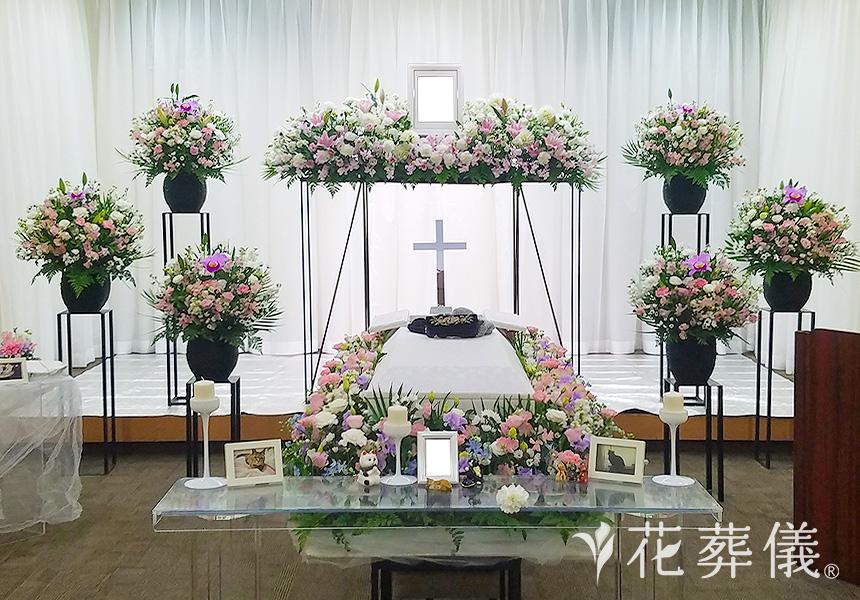 キリスト教の花祭壇