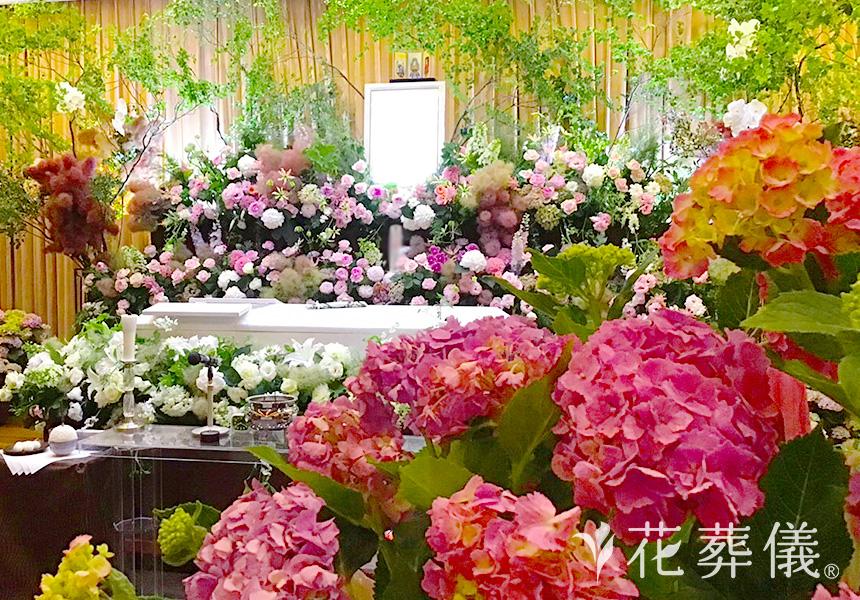 生花の花祭壇について