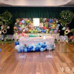 娘様・息子様の花祭壇の飾り方