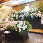 胡蝶蘭を使った花祭壇