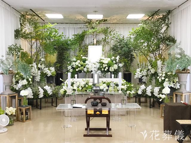胡蝶蘭を使った祭壇