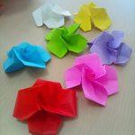 折り紙のお花(2015年5月27日)