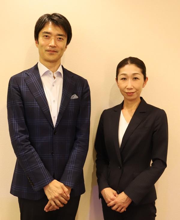 司法書士の門脇紀彦先生と花葬儀葬祭プランナーの山田久美