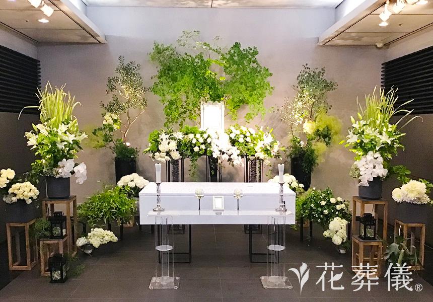 最近の花祭壇