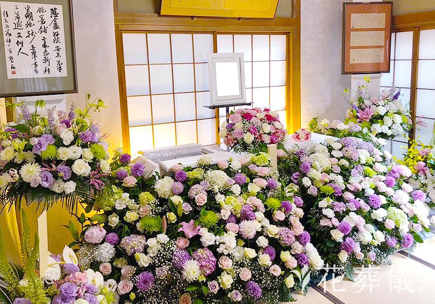花いっぱいであふれて