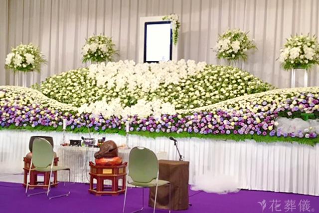 社葬の祭壇事例