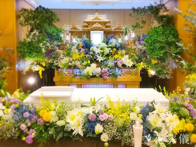 花葬儀の仏教葬